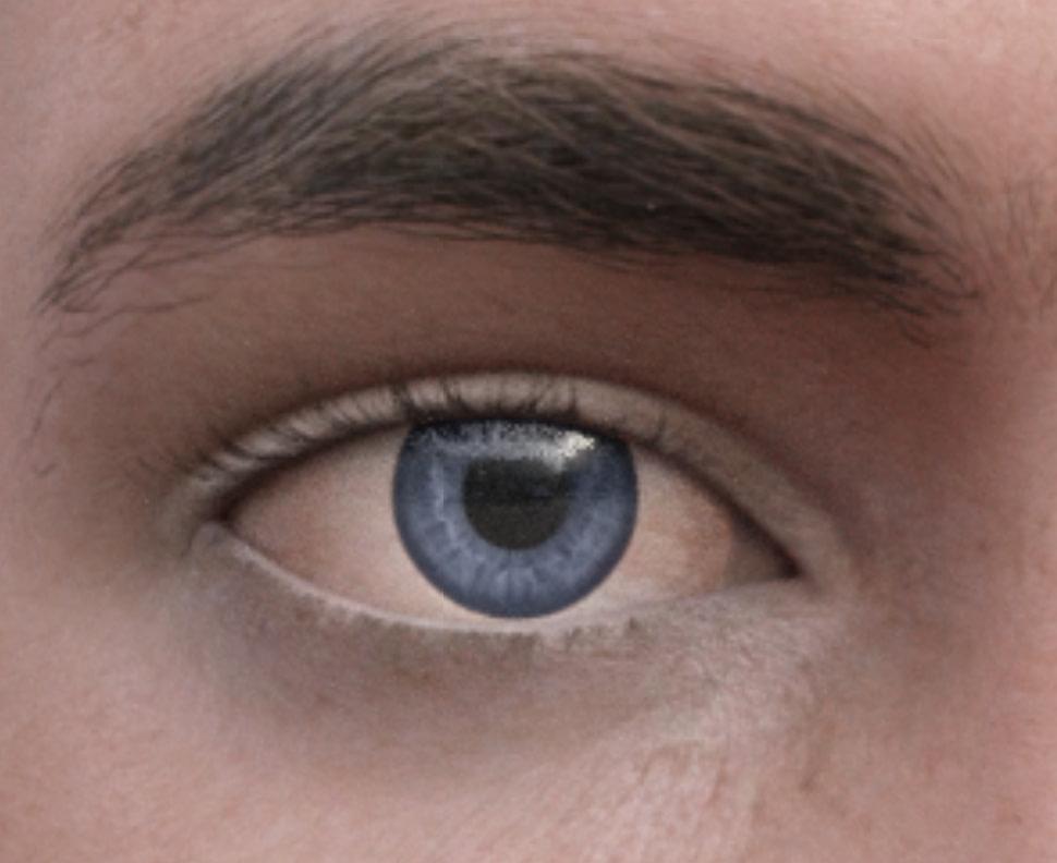 daz control eye