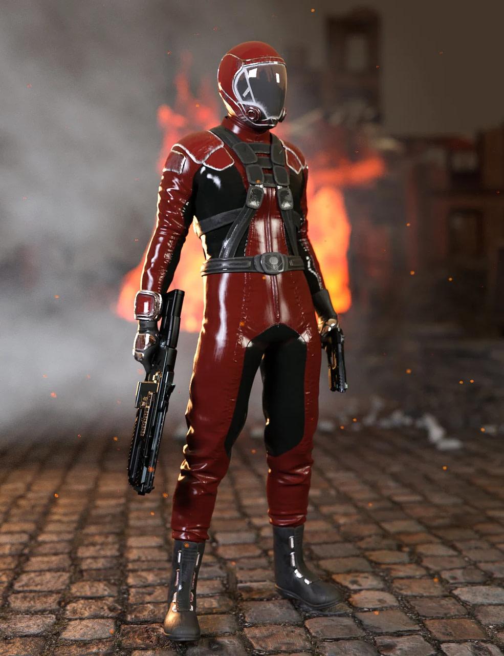 blender 3d printing sci fi gravity suit