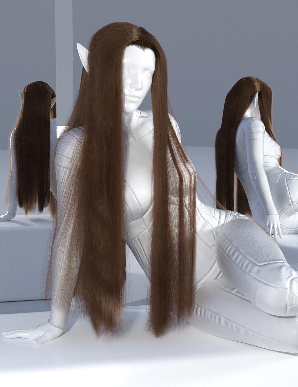 daz studio dforce elven lord hair