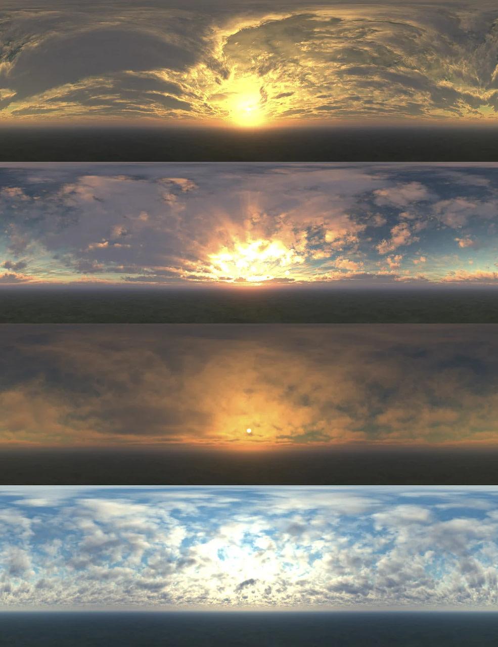 daz studio skies of