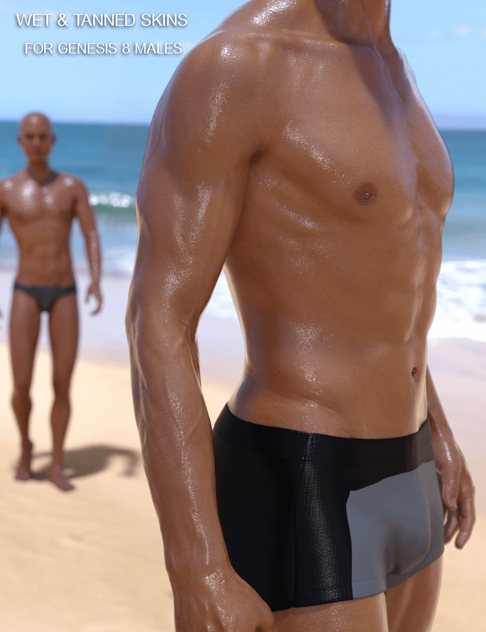 daz studio wet and tanned skins
