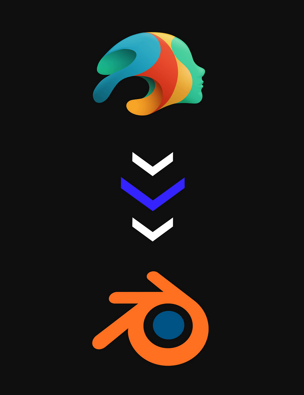 daz to blender logo