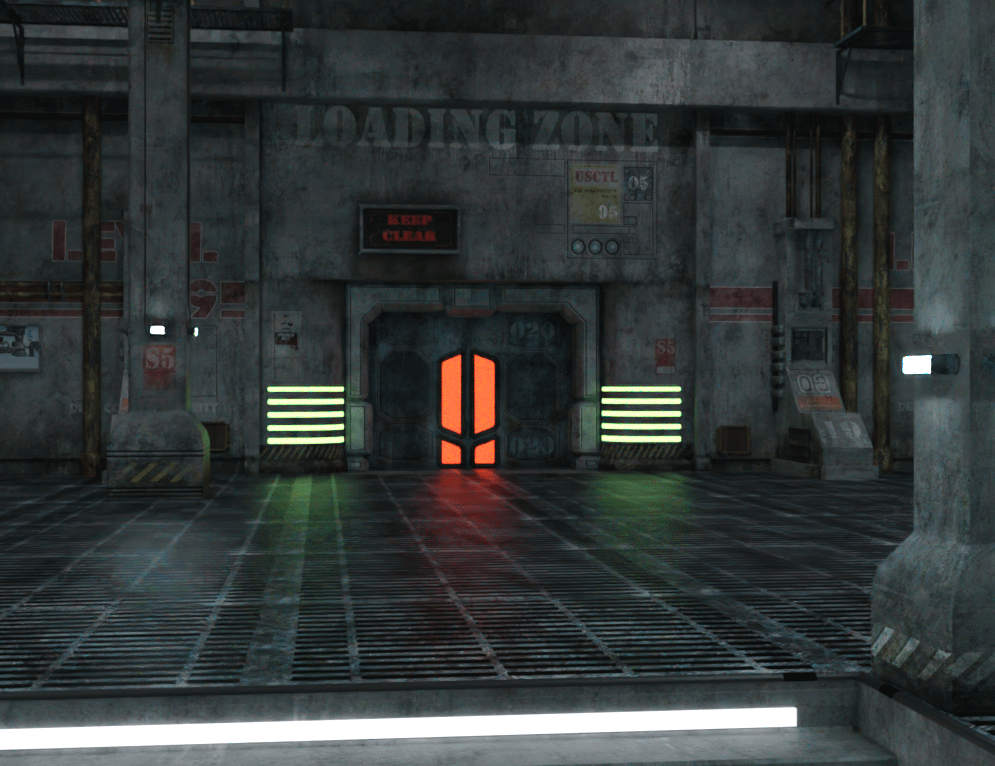 daz sci fi lighting