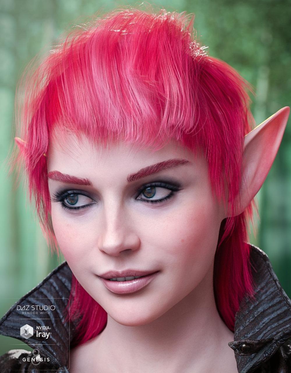daz3d fallow hair colors