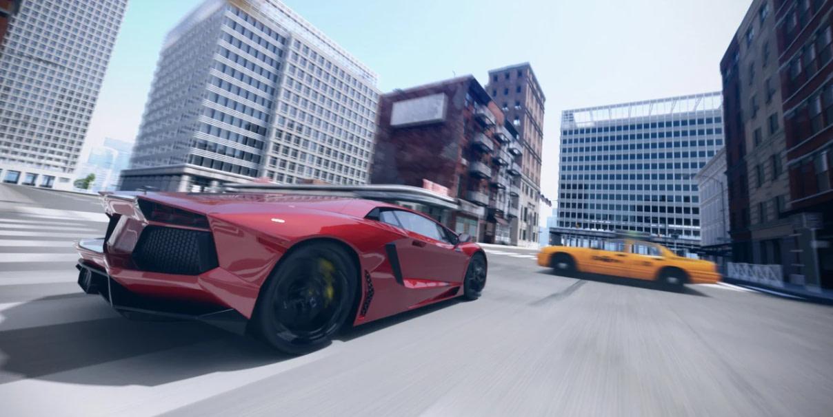 daz3d product billboard models image car hdri getaway