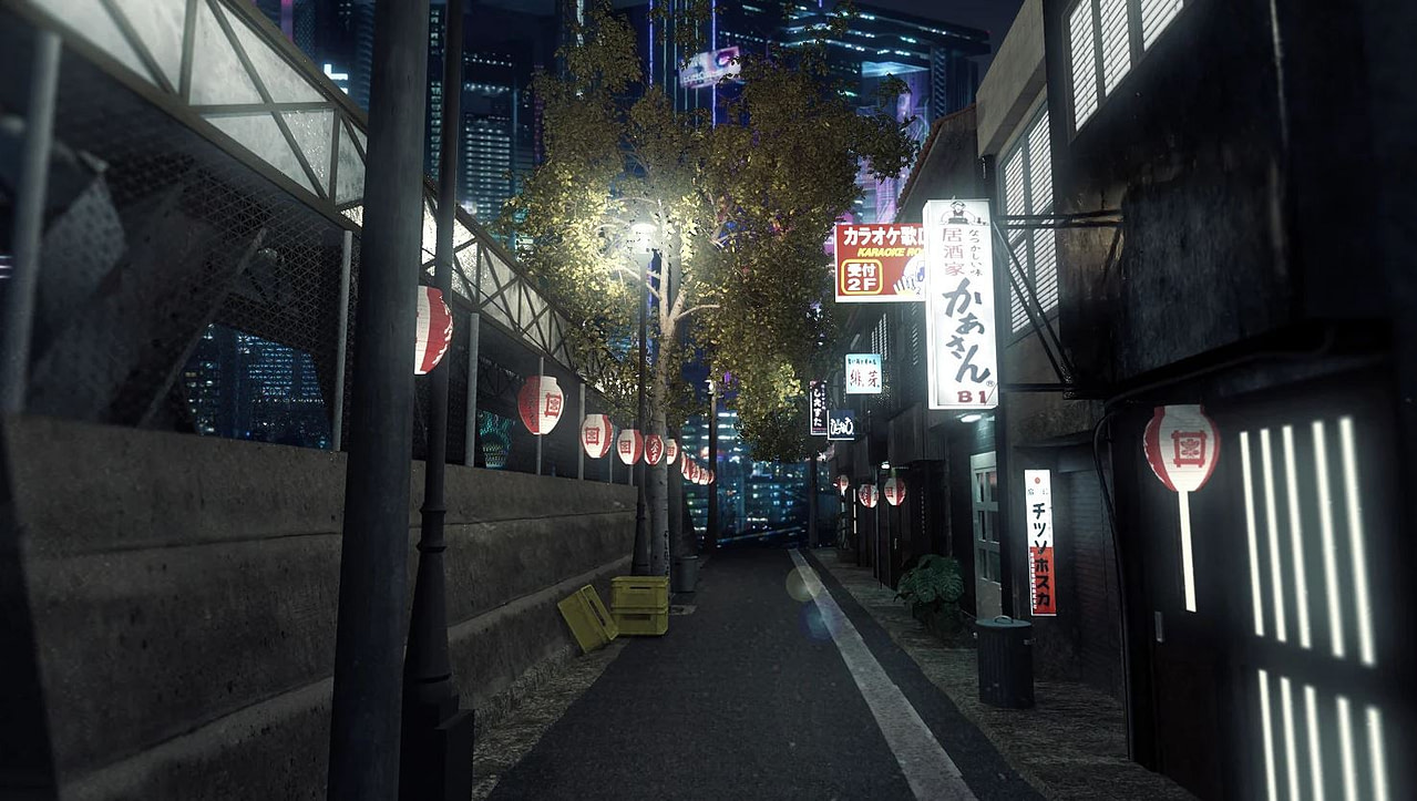 daz3d night in tokyo