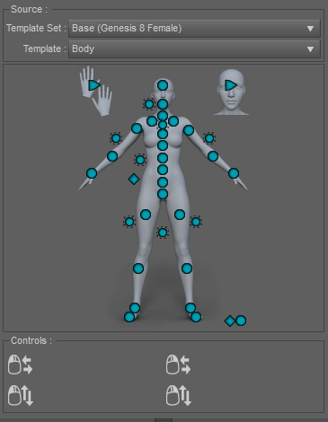 powerpose tool inside daz studio
