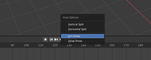 blender basics windows join areas