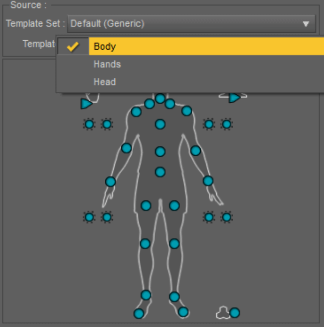 daz3d powerpose default template
