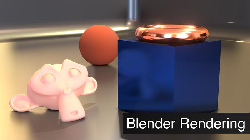 Blender Rendering Tutorial