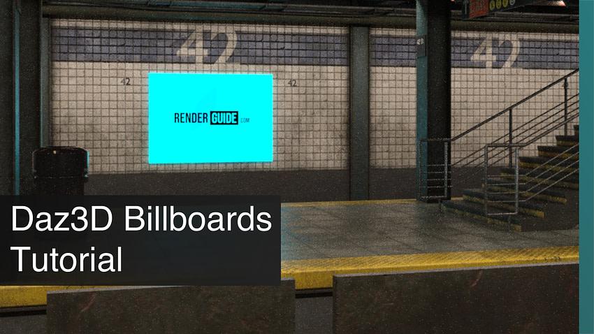 Daz3D Billboards Tutorial