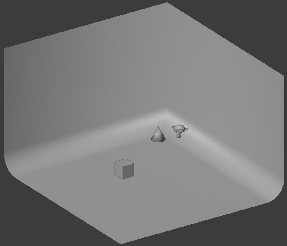 blender isometric camera