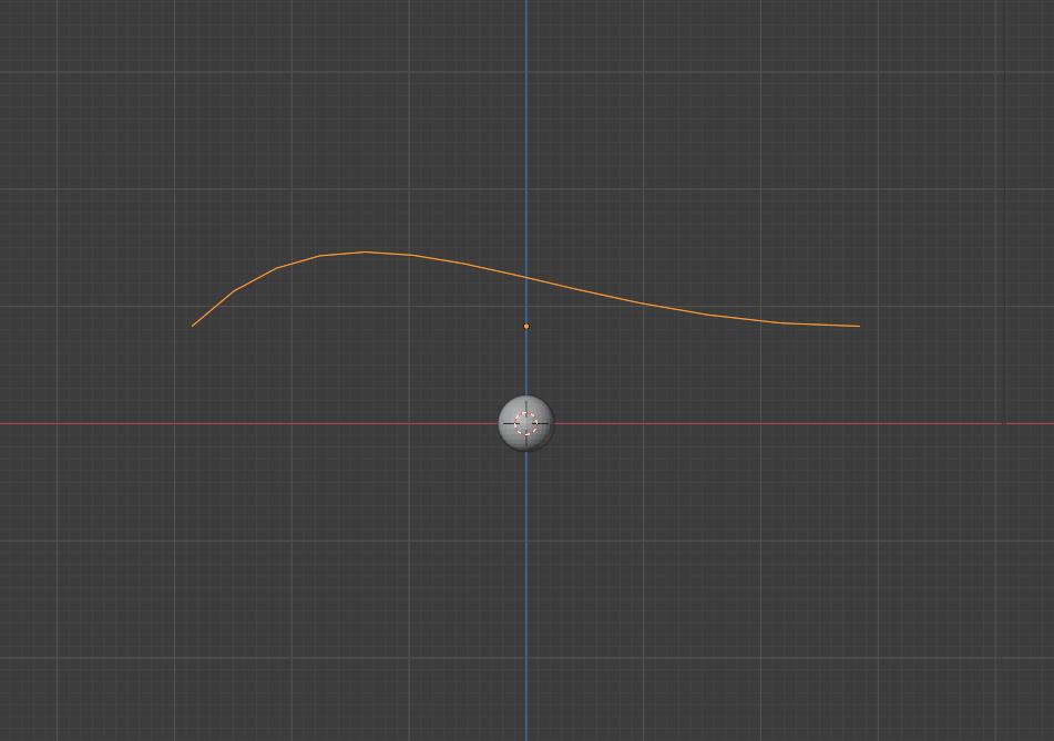 blender smoke effect uv sphere bezier curve