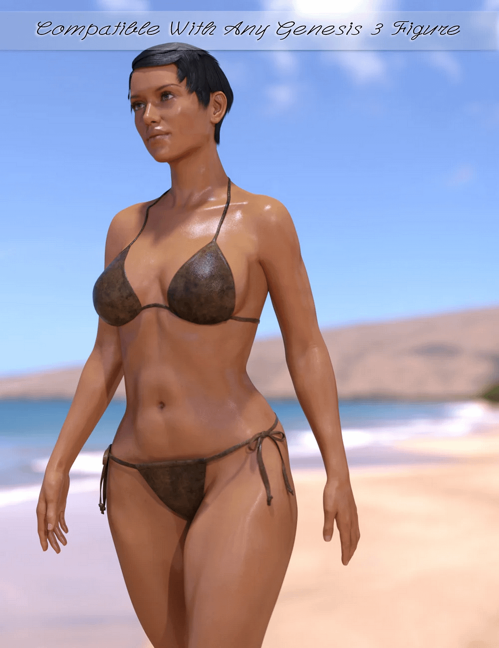 daz wet and tanned skins genesis3