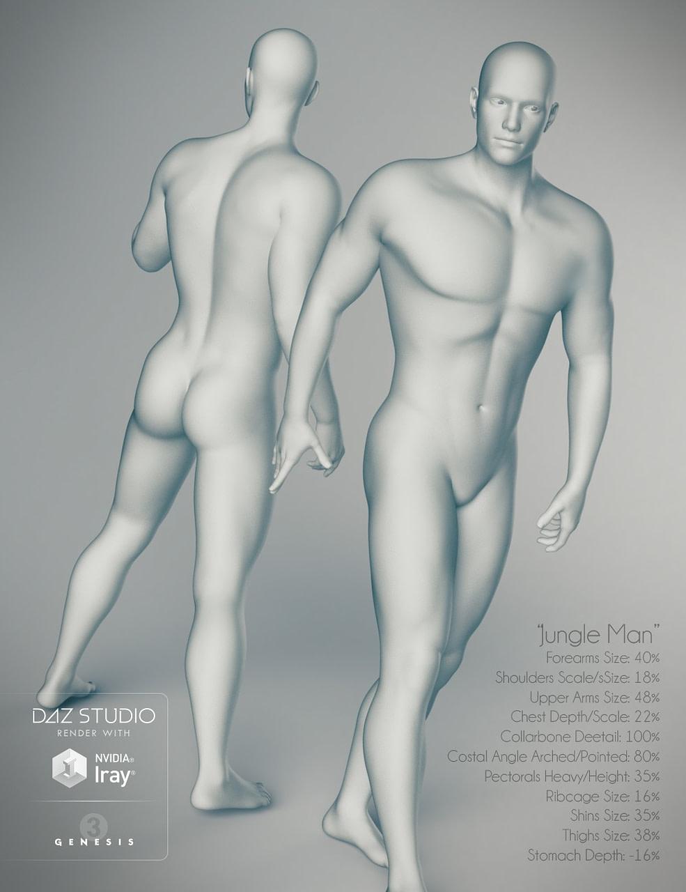 male body morphs for daz generation 3